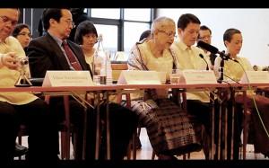 GPH panel members (Photo by Martha Marietta Atienza)