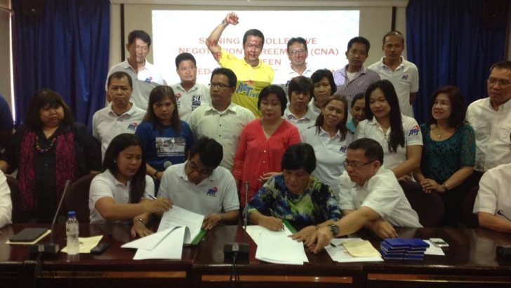 DepEd, NCR public school teachers union ink CNA