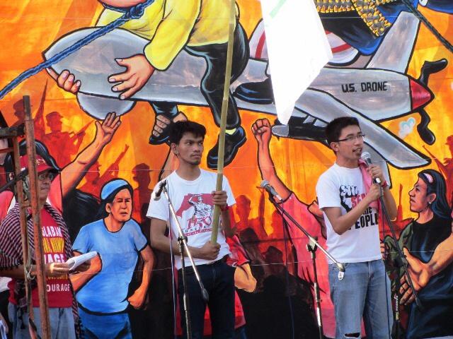 Ian Porquia of BIEN (Photo by M. Salamat / Bulatlat.com)