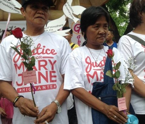 Nanay Celia: 'I'm willing to die by firing squad for Mary Jane'