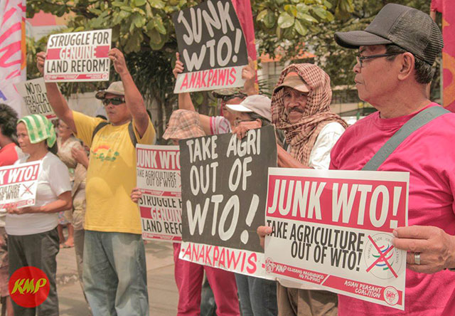 WTO chief in PH | Farmers slam liberalization in agriculture
