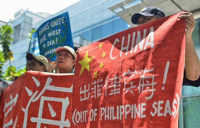 Green group protests China's 'destruction' in West Ph Sea