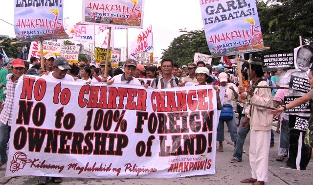 Ruling party rushing Charter amendments