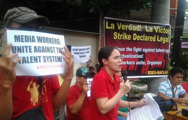 Radio workers union in RMN Davao wins case for latest strike