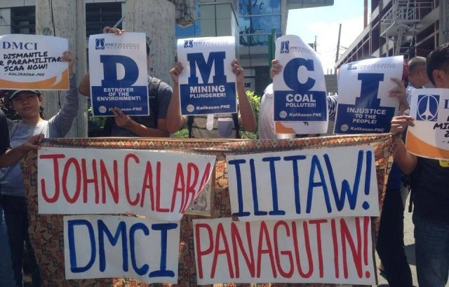World Environment Day | Groups protest DMCI projects