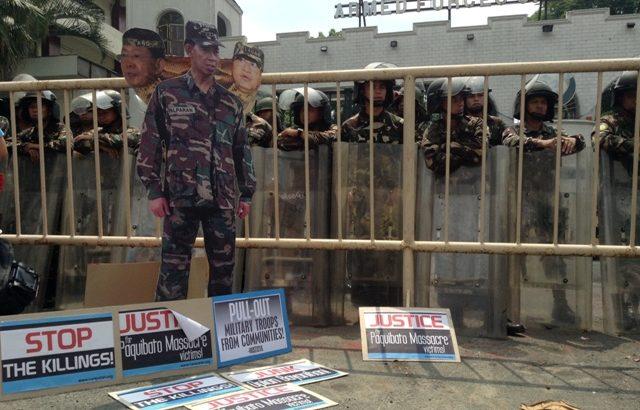 'Palparan battalion' behind Paquibato massacre – rights group