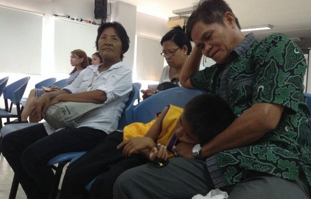 Veloso family urges DOJ to study evidence well