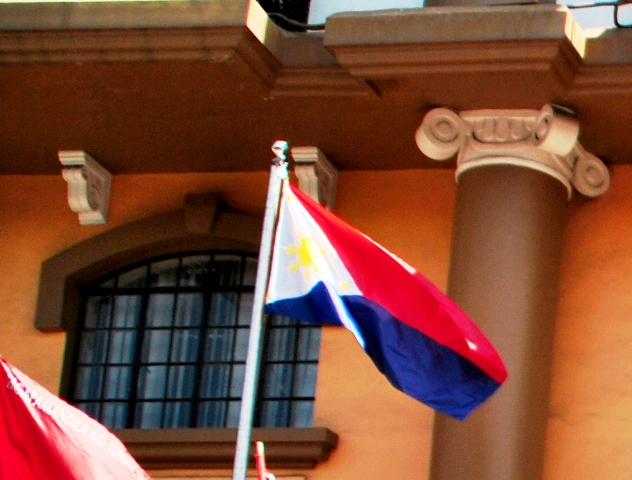 Is the Philippines under a state of war? Against whom?