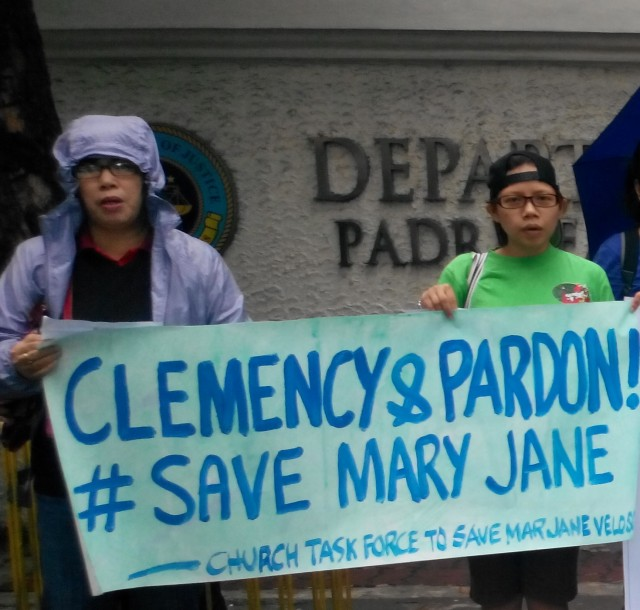 #FreeMaryJane |Mary Jane Veloso supporters call for vigilance