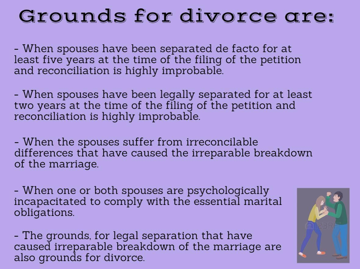 "Lifted from the House Bill 4408 ""An Act Introducing Divorce Bill in the Philippines."""