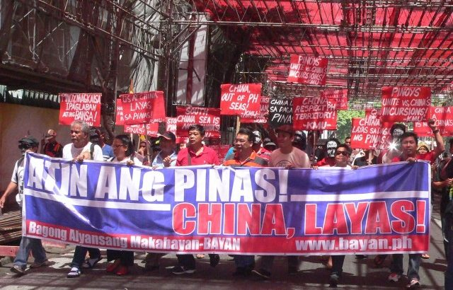 Katipunan spirit stirs protesters vs China