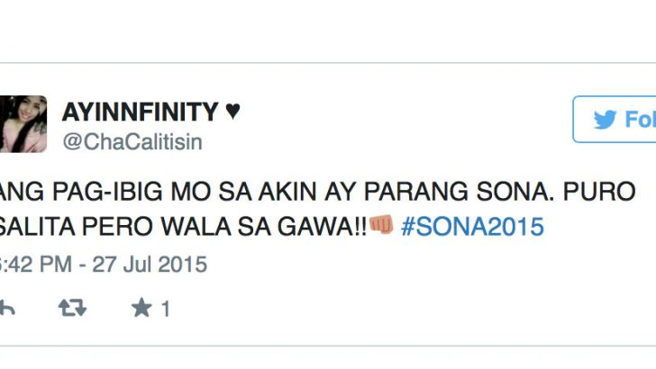 Netizens score Aquino's 'lies' in last SONA