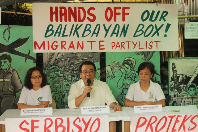 hands off balikbayan box