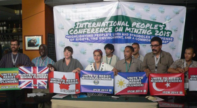 Stronger int'l solidarity to confront mining TNCs