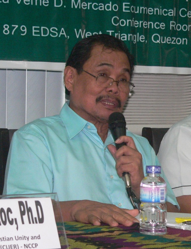 MILF chief peace negotiator Mohagher Iqbal (Photo by D.Ayoroso/Bulatlat.com)