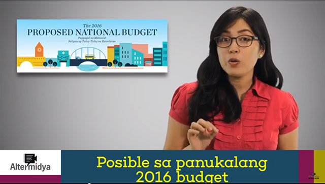 National budget = election budget?