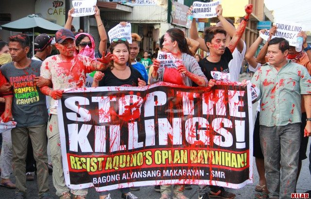 Killing of Agusan Sur activist 'part of Oplan Bayanihan'  – Lumad group