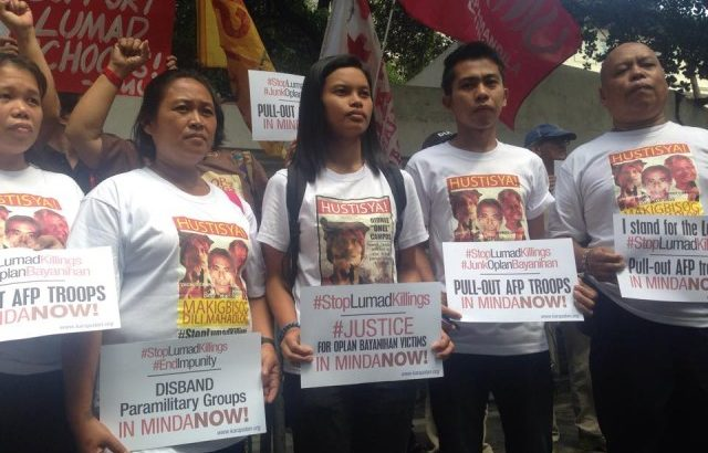 Independent probe on Lumad slays urged