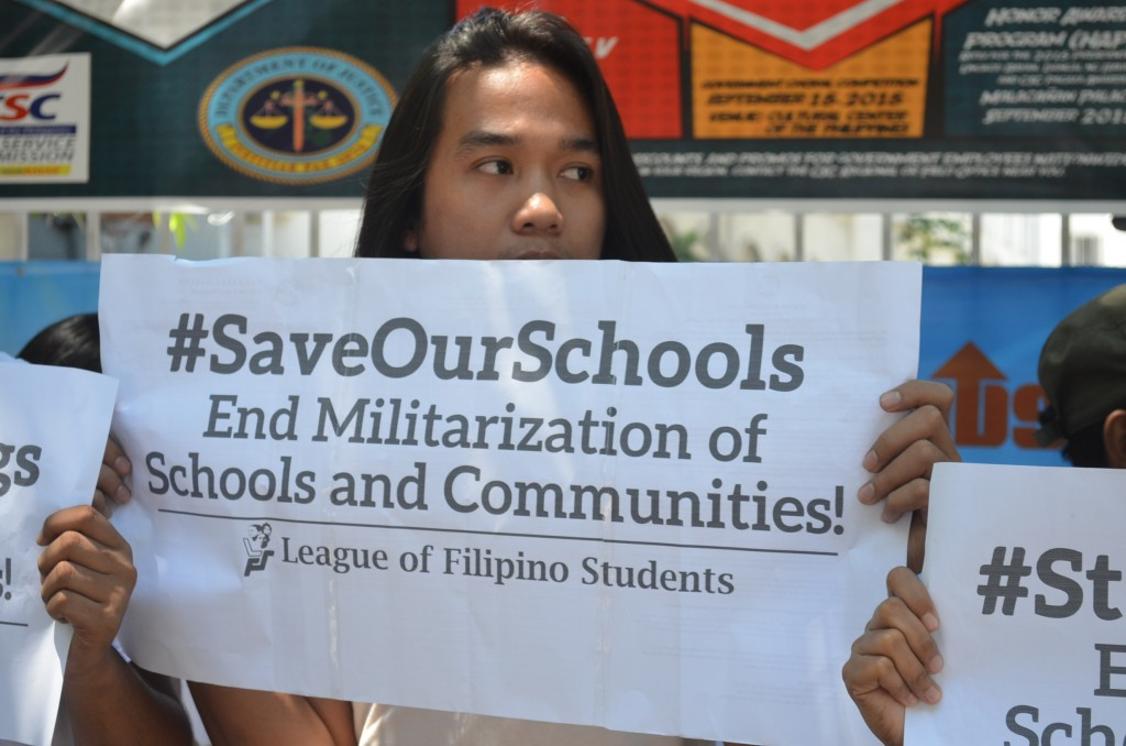 'Defend Lumad schools, our beacons of hope'