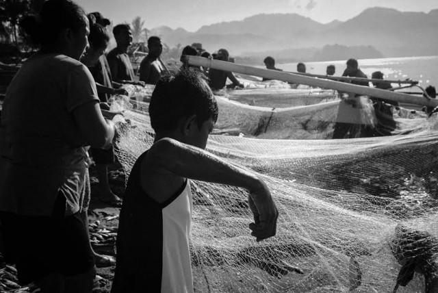 fisherfolk, net, fishing