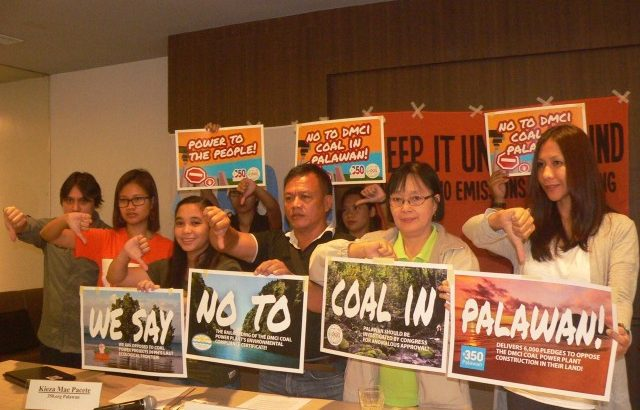 Junk DMCI coal plant, green groups urge DENR
