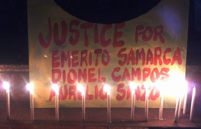 Surigao Sur evacuees file murder raps vs paramilitary, Army