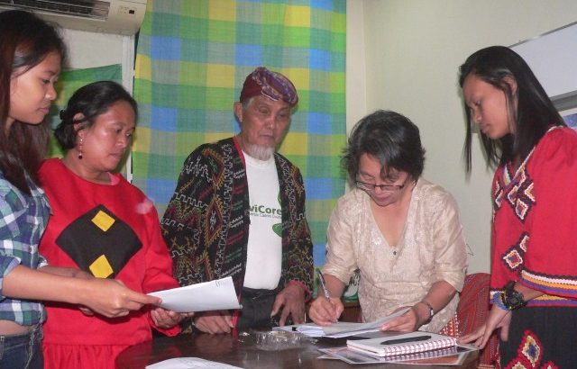 Lumad victims give testimonies to UN expert