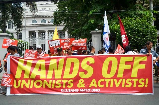 Activists against harassment
