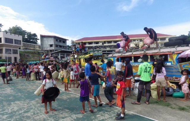 Surigao Sur evacuees rise to 2,700