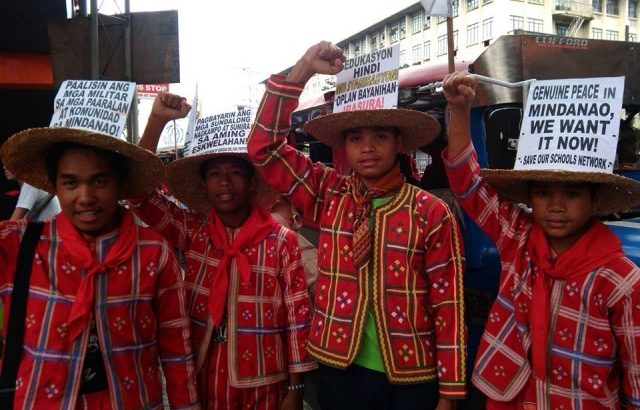Army,  Alamara block Lumad festival, school celebration in Talaingod