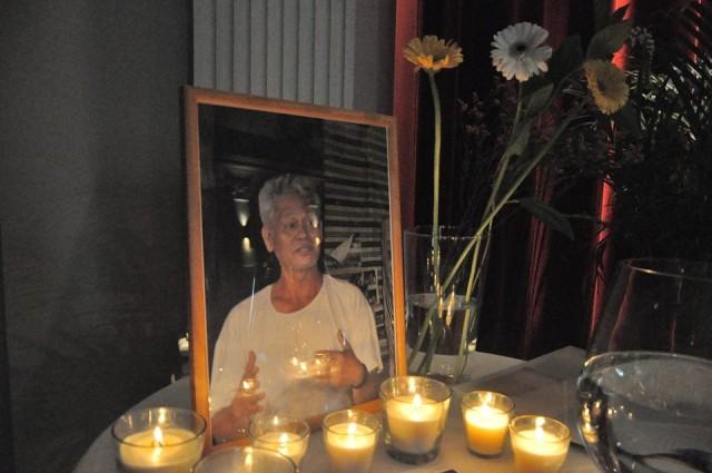 Solidagro members lit candles for slain Alcadev director Emerito Samarca Photo courtesy of Alcadev, Inc./Bulatlat,com)