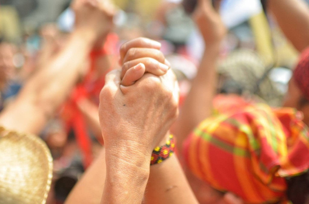 Manila stands with the Lumad