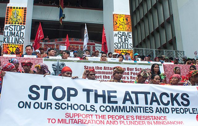 UP supports Lumad's fight for survival