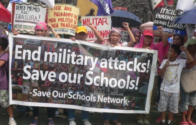 Lumads sustain fight to save their schools