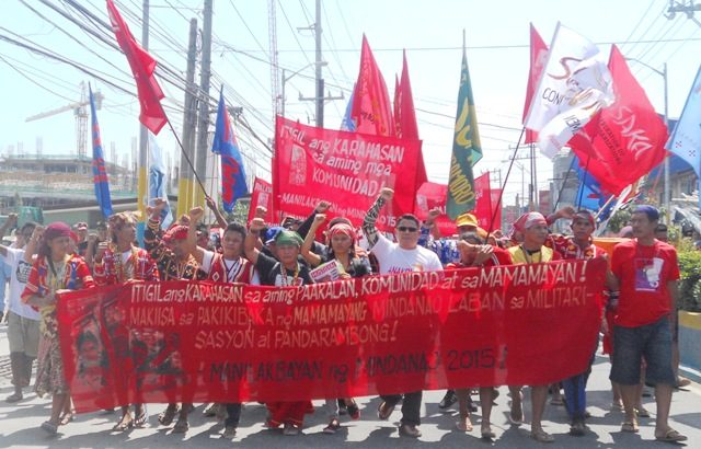 Manilakbayan reaches NCR
