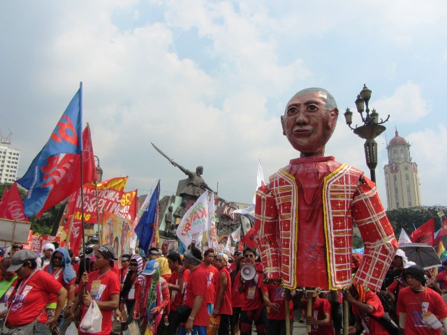 Bulatlat picture Manilakbayan indigenous peoples