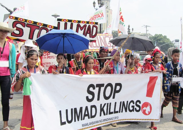 Bulatlat picture Manilakbayan 2015 indigenous peoples