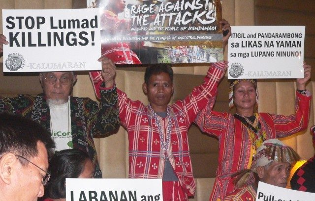 To join the paramilitary or to be killed? Talaingod datu chose to leave home