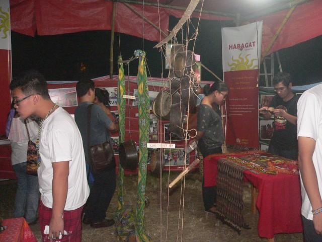 Inside the Museo Lumad (Photo by D.Ayroso/Bulatlat,com)