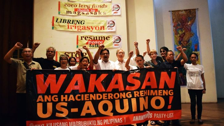 Peasant groups dare presidentiables to address land problem