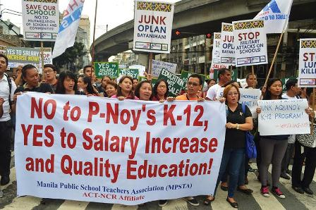 World Teachers' Day | Renewed calls for salary increase, justice for 'Sir Emok'