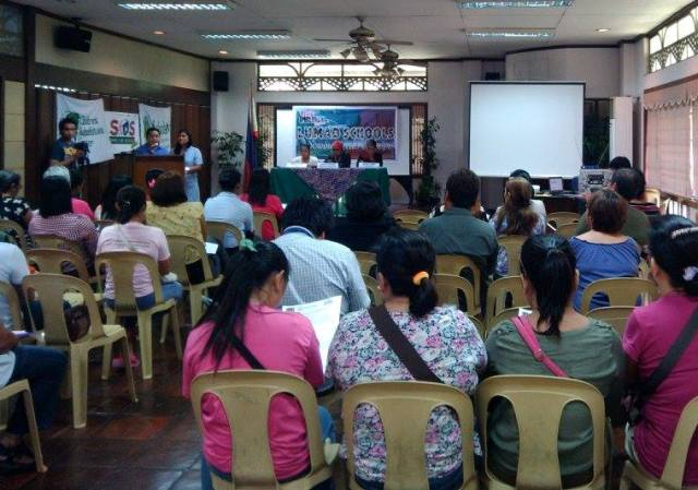 Ulat Bulilit series four last Oct. 21 (Photo courtesy of Children's Rehabilitation Center/ Bulatlat.com)