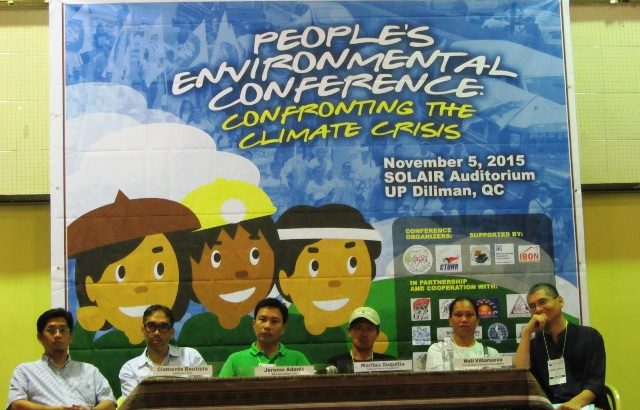 People's Environmental Conference launches platform confronting climate crisis
