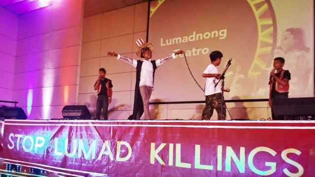 Concert for Lumad children held at UP Diliman