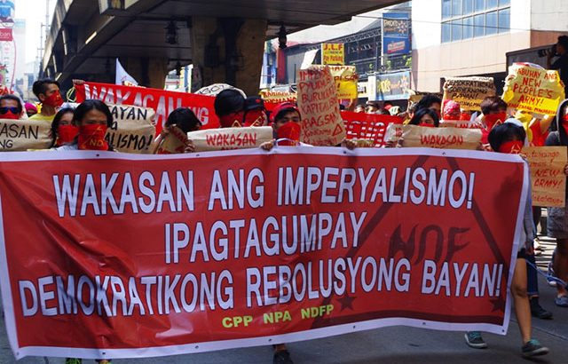 Reds oppose APEC