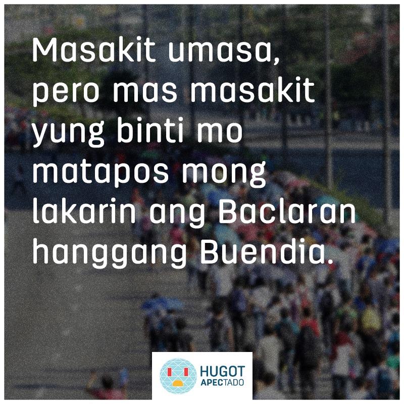 #APEC-tado   Netizens vent ire on weeklong Apec meet
