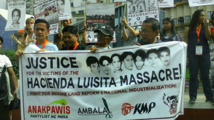 Farmers, supporters mark 11th year of Hacienda Luisita massacre