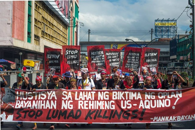 Manilakbayan tribute march in Manila (Photo by Kilab Multimedia)