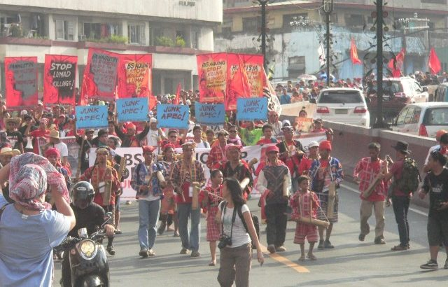 'Bakwet' | Forced out of Manila by Apec preps, Lumád moves closer to summit venue