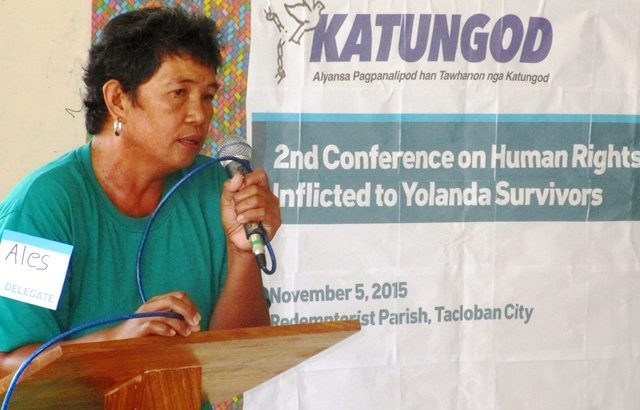 Instead of receiving gov't assistance, Yolanda survivors being harassed, killed by soldiers